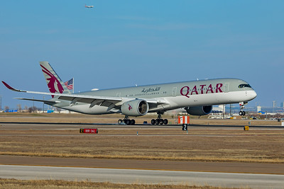 Qatar Airways Airbus A350-1041 A7-ANI 1-12-20