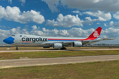 Cargolux Airlines International Boeing 747-8R7F LX-VCF 10-20-20 5
