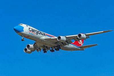 Cargolux Airlines International Boeing 747-8R7F LX-VCF 10-20-20 3