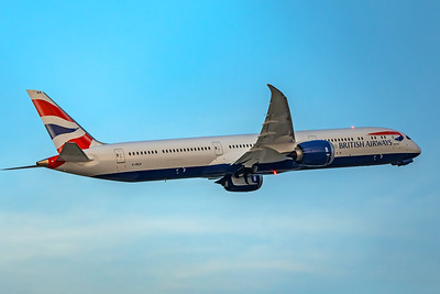 British Airways Boeing 787-10 Dreamliner G-ZBLB 7-7-20 3