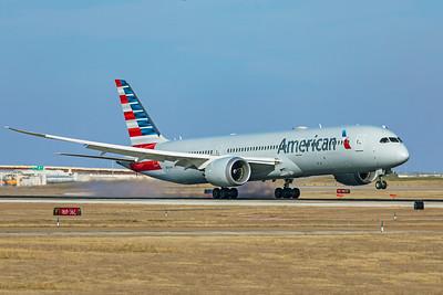 American Airlines Boeing 787-9 Dreamliner N824AN 1-12-20