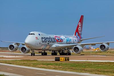 Cargolux Airlines International Boeing 747-8R7F LX-VCM 10-24-20 3