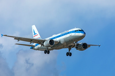 American Airlines Airbus A319-112 N744P 7-7-20