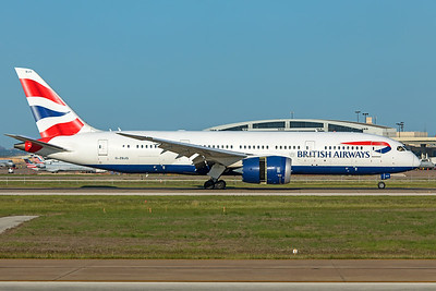 British Airways Boeing 787-8 Dreamliner G-ZBJG 5-6-20 2