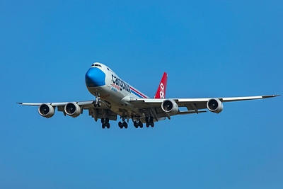 Cargolux Airlines International Boeing 747-8R7F LX-VCF 10-20-20