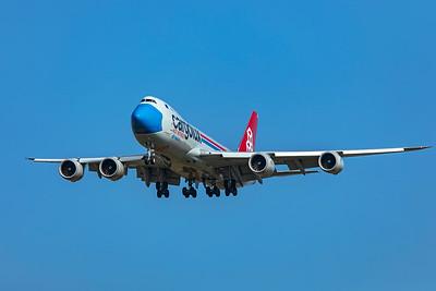 Cargolux Airlines International Boeing 747-8R7F LX-VCF 10-20-20