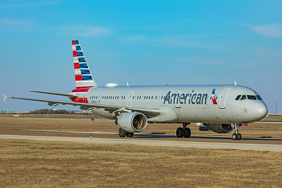 American Airlines Airbus A321-211 N165US 1-12-20