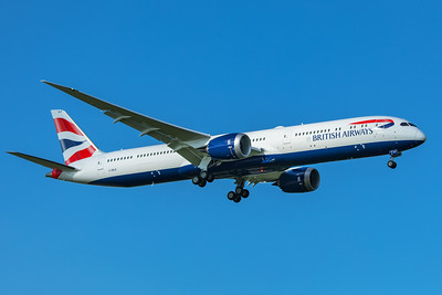 British Airways Boeing 787-10 Dreamliner G-ZBLB 7-7-20