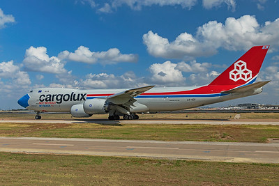 Cargolux Airlines International Boeing 747-8R7F LX-VCF 10-20-20 6