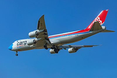 Cargolux Airlines International Boeing 747-8R7F LX-VCF 10-20-20 4