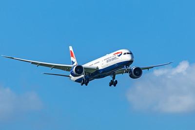 British Airways Boeing 787-10 Dreamliner G-ZBLB 7-7-20 4