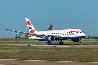British Airways Boeing 787-8 Dreamliner G-ZBJG 5-6-20