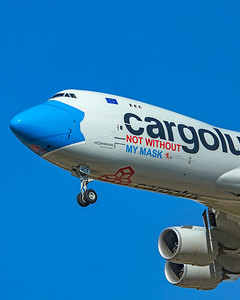 Cargolux Airlines International Boeing 747-8R7F LX-VCF 10-20-20 2
