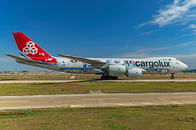Cargolux Airlines International Boeing 747-8R7F LX-VCM 10-24-20 4