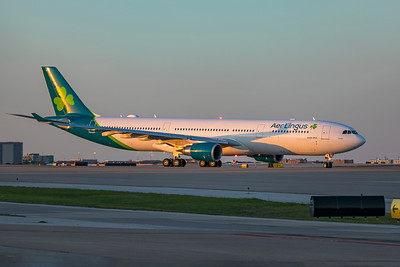 Aer Lingus Airbus A330-302 EI-EIM 4-18-21