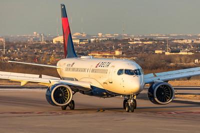 Delta Air Lines Airbus A220-100 N127DU 3-4-21 4