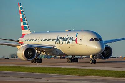 American Airlines Boeing 787-9 Dreamliner N834AA 4-18-21