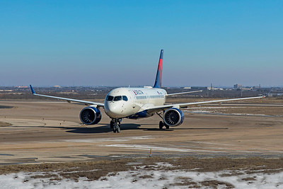 Delta Air Lines Airbus A220-100 N129DU 2-20-21