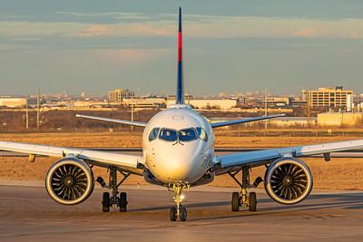 Delta Air Lines Airbus A220-100 N127DU 3-4-21