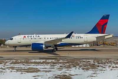 Delta Air Lines Airbus A220-100 N129DU 2-20-21 2