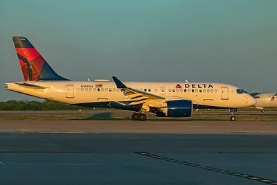 Delta Air Lines Airbus A220-100 N124DU 4-18-21