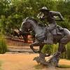 Wrangler Bronze Statue