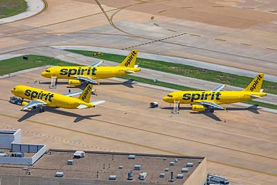 Spirit Airlines Airbus A319-132 N530NK 8-3-20