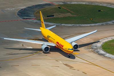 AeroLogic Boeing 777-F D-AALM 8-3-20 9