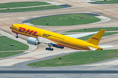 AeroLogic Boeing 777-F D-AALM 8-3-20
