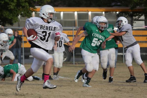 DGF 8th Grade FB vs Breckenridge