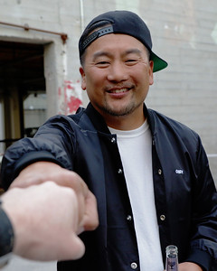 Chef Roy Choi, LA native and founder of the Kogi gourmet food truck, A-Frame, LocoL, and Chego.