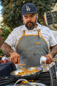 Chef Wes Avila of Guerrilla Tacos, Los Angeles