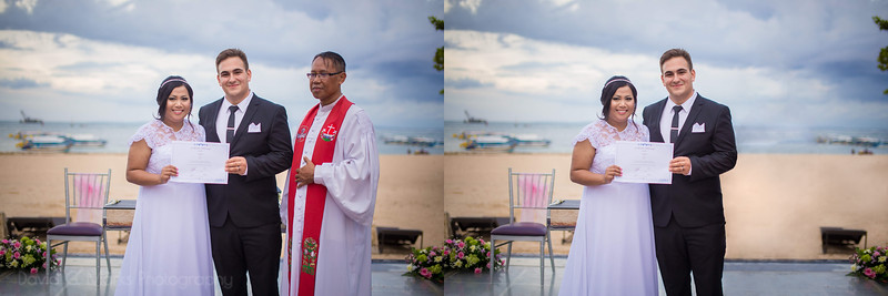 """Retouch Request: """"Wanted to hang photos in our new house but the priest looks awkward. Remove Priest please."""""""