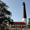 Pensacola Lighthouse located on NAS Pensacola, Florida