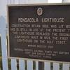 Pensacola Lighthouse located on NAS Pensacola, Florida