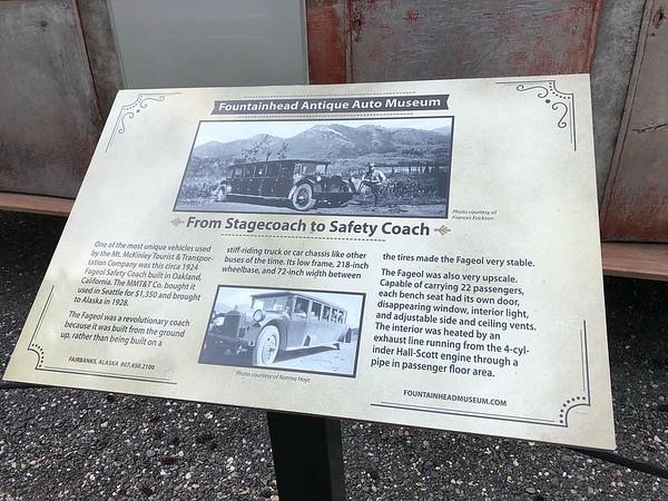 A 1924 Fageol Safety Coach