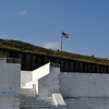 Fort Barrancas (1839) or Fort San Carlos de Barrancas (from 1787) is a historic United States military fort in the Warrington area of Pensacola, Florida, located physically on Naval Air Station Pensacola.