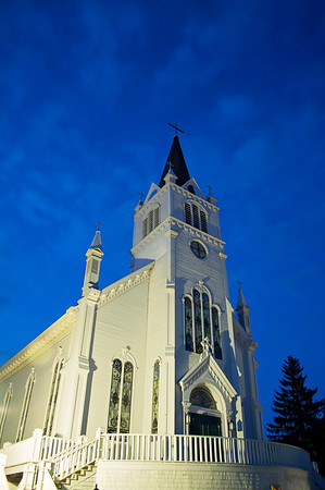 Ste. Anne's Church on Mackinac Island, Michigan
