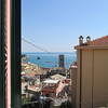 View from our window at Manuel's Guest House - Monterosso