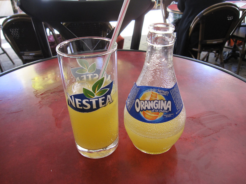 Orangina - my favorite!