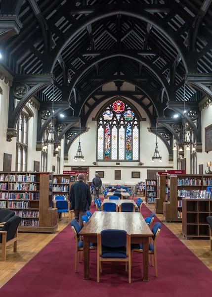 Sir George Gilbert Scott library building built 1869