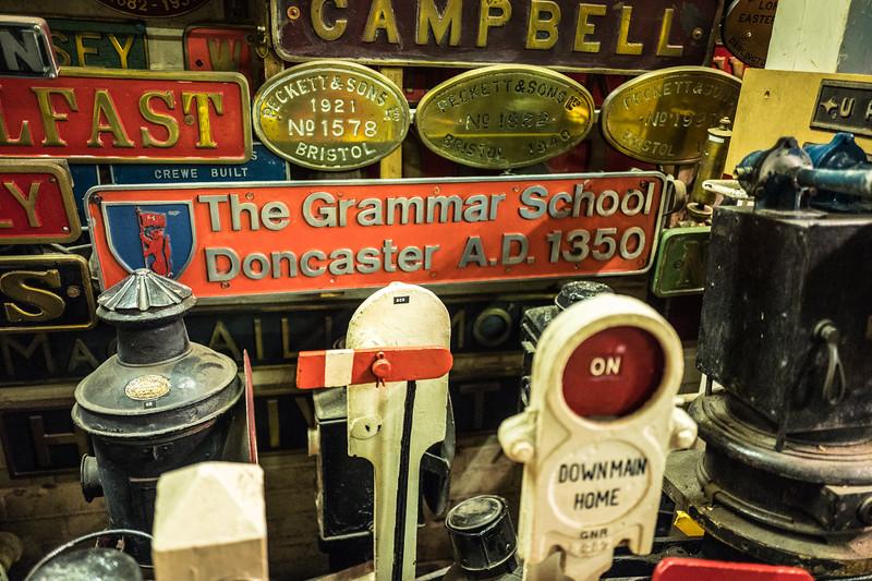 A tour of the Railway Tower memorabilia