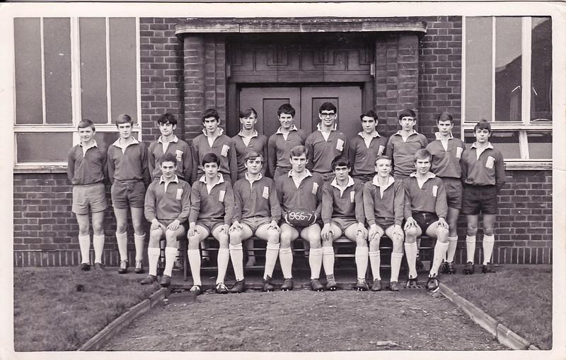 DGS 1st XV 1966/67