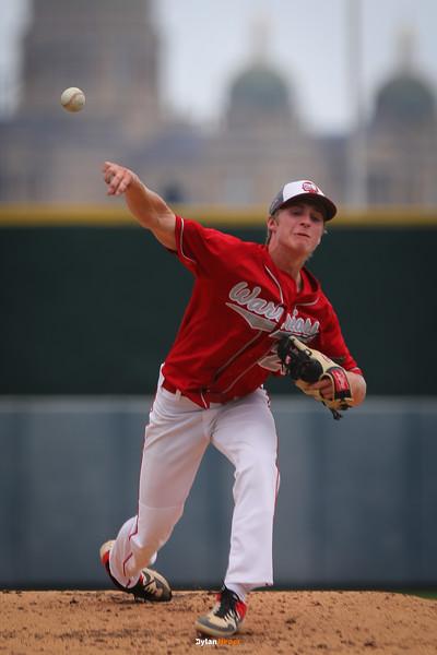 Iowa High School State Baseball Tournament: South Winneshiek Warriors vs. Alburnett Pirates