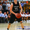 Dowling sophomore center Ted Brown