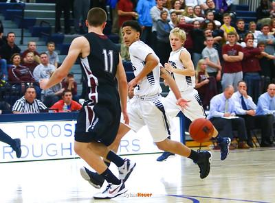 Roosevelt junior guard Jordan Johnson