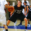 Dowling senior guard Jack Green