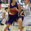 Waukee sophomore forward Reilly Jacobson, Roosevelt junior guard Taylor Silvestrini