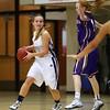 Roosevelt junior guard Alexa Pitz, Waukee freshman guard Kylie Coleman