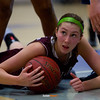 Dowling junior forward Audrey Faber